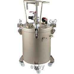 VEVOR 30L Spray Paint Pressure Pot Tank Manual 60PSI Air Paint Pressure Pot