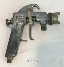 Vintage Binks Model 29 Paint Spray Gun Excellent Pre-Owned Condition With Tip