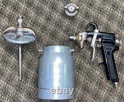 Vintage Paint Spray Gun & Cup BINKS MFG CO Model 7 FREE SHIPPING
