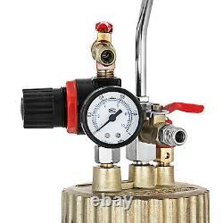 0.5/2.5/4 Gallon Pression Pot Air Paint Spray Gun Industrial Painting Painter