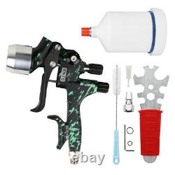 1.3mm 1.9mm Buse Air Feed Spray Gun Kit De Peinture De Voiture 1/4 Connecteur Tôle