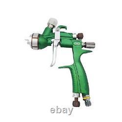 1.3mm Buse Pistolet À Peinture À Base D'eau Air Hvlp Pistolet À Vaporisateur Airbrush 600ml Capacité