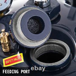 10 Gallon Pressure Feed Paint Pot Tank Spray Gun Sprayer Régulateur Air Agitateur