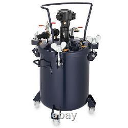2.5/5/8/10 Gallon Spray Paint Pressure Pot Tank Air Powered 20-30 Psi Optimal