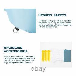23x13x11ft. Blow Up Paint Booth Portable Spray Paint Tent W Filtres À Air & Pompes