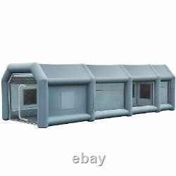 33×16×11 Ft. Poitrine De Peinture Gonflable Vaporisateur Portable Tente De Voiture Avec Pompes À Air