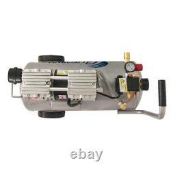 8,0 Filles. 1.0 Ch Ultra Silencieux Et Sans Huile Outils De Compresseur D'air Électrique Acier