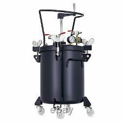 8 Gallon 30l Agitateur De Pulvérisateur De Pulvérisateur De Réservoir De Peinture D'alimentation Sous Pression De 30l