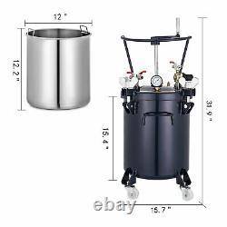 Agitateur De Pulvérisateur De Pulvérisateur De Pot De Pot De Peinture D'alimentation De 30l De Gallon 30l
