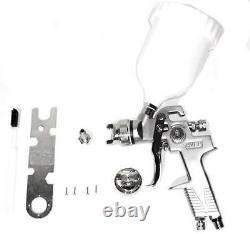 Air Paint Spray Gun Hvlp Gravity Feed 1.4 Tip Auto Car Detail Sprayer Outil D'air