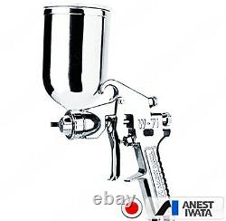 Anest Iwata 1.3 Mm. Small Top Cup Air Paint Spray Gun Modèle W 71-2g With Cup Pc-5