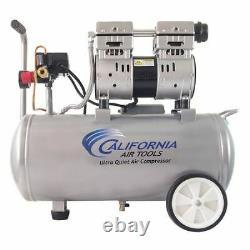 California Outils Aériens Cat-8010 Compresseur D'air Ultra Silencieux Sans Huile 8-gal 1-hp