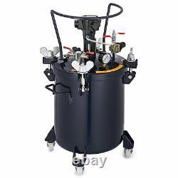 Commercial 2.5 Gallon (10 Litres) Spray Paint Pressure Pot Tank Avec Auto