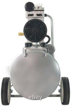 Compresseur D'air Électrique 8.0 Gal. 1.0 HP Single Stage Ultra Silencieux Et Sans Huile