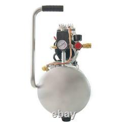 Compresseur D'air Électrique Ultra Quiet Oil Free Low Maintenance 8.0 Gal. 1.0 HP