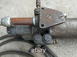 Devilbiss Air Valve Gauge Paint Spray Gun Vtg Shop Avec Compresseur Filtre Canister
