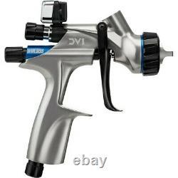 Devilbiss Basecoat Paint Spray Gun Dv1 Avec Dv1-b Plus Hvlp Air Cap 704504 Nouveau