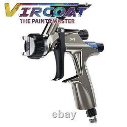 Devilbiss Basecoat Paint/clear Coat Spray Gun Dv1 Avec Dv1-b Plus Hvlp-plus Air