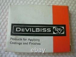 Devilbiss Ega-502-395f Pistolet À Peinture Et Revêtement Nouveau