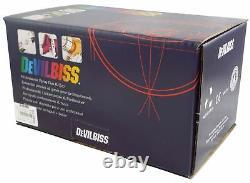 Devilbiss Flg-5-14 Gravity Spray Paint Gun 1.4mm Tip + Régulateur De Pression Plus Fin