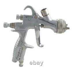 Devilbiss Flg-5 2.0mm Pistolet De Pulvérisation D'air De Peinture + Support De Banc