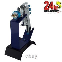 Devilbiss Slg-620 1.3mm Air Paint Spray Gun + Banc Mount Stand