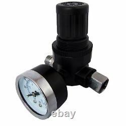 Devilbiss Slg-620 1.3mm Air Paint Spray Gun + Régulateur De Pression D'air