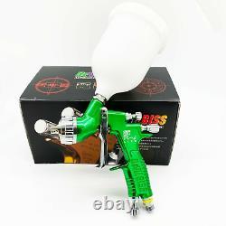 Devilbiss Spray Gun Gti Pro Lite Green 1.3mm Buse Lvmp Car Paint Tool Pistol