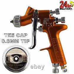 Devilbiss Sri Pro Lite Te5 Air Cap 0.8mm Fluid Tip Gravity Air Spray Paint Gun