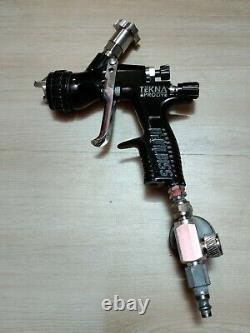 Devilbiss Tekna Prolite Pistolet À Peinture Te20 Casquette À Air 1.4 Tip Pro Lite