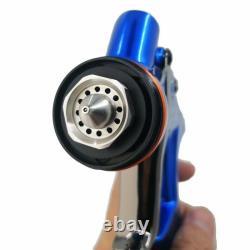 Dv1 À Base D'eau Hvlp Air Spray Paint Gun Conseils 1.3mm Avec Réservoir Car Paint Tool Cv1