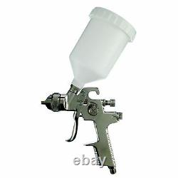 Fast Mover Fmtab17g 1.3mm Buse Tip Hvlp Air Gravity Feed Paint Spray Gun