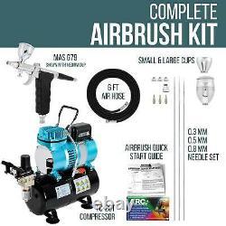G79 Spray Gun Trigger Arbrush Kit-tank Compresseur D'air