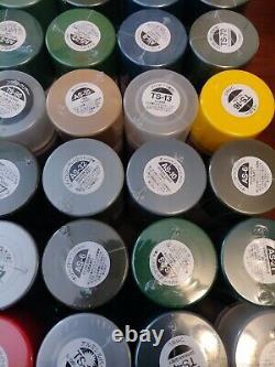 Giant Tamiya Modèle Spray Paint Lot 97 New Cans Military Sea & Air