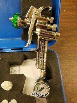 Hvlp Paint Spray Gun 1.5mm Avec Accessoires Nouvelle Démo Dans Carry Case