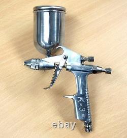 K-3 Hvlp Air Spray Paint Gun 0.5 MM Conseils Buse 200ml Metalcan