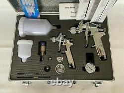 Kit Pistolet À Peinture Automobile Avec Régulateur De Pression Filtre D'air Et Étui
