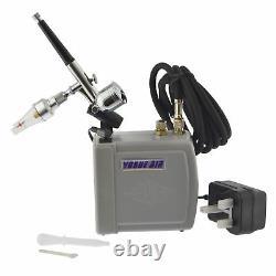 Mini Brosse À Air Portable Et Compresseur Spray Paint Gun Airbrush Kit