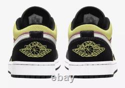 Nike Air Jordan 1 Low Se Fuchsia Cyber Size 14 Spray Paint Cw5564-001