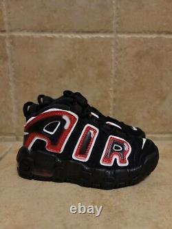Nike Air Plus Uptempo Ps Laser Crimson Spray Peinture Chaussures Aa1554-010 Sz 11c