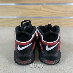 Nike Air Plus Uptempo Ps Laser Crimson Spray Peinture Chaussures Aa1554-010 Taille 13c