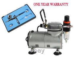 Nouveau Cake Sugar Machine Air Brush & Air Compressor Kit Sp2- 20 Spray Air Brush