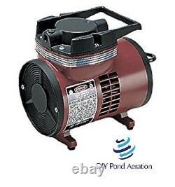Nouveau Thomas 900-72 Compresseur Brosse À Air Spray Paint Inflation Pump 1/15hp Sans Huile
