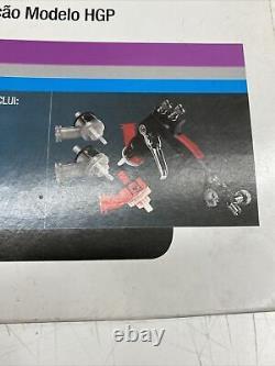 Pistolet À Peinture Accuspray 3m Avec Valve De Contrôle D'air 165 Kit Bundle Avec Cup Pression