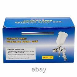 Pistolet De Pulvérisation D'alimentation D'air De Gravité Automatique De 1.4mm Avec Le Clearcoat De Basecoat De Peinture De Régulateur