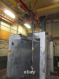 Pneumatic Air Saturn Tractor Paint Spray Booth Trolley + Bridge Crane System