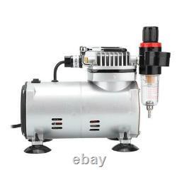 Pompe À Compresseur D'air Silencieux De Type Piston Pour Aérographe Modèle Peinture Pulvérisation Ce