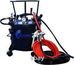 Pression Pot Paint Sprayer Air Tools 5 Gal. Avec Hvlp Spray Gun And Hose Kit
