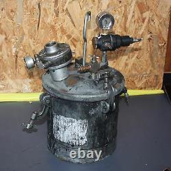 Pression Pot Spray Colle De Peinture Air Driven Stirrer Distributeur 10l