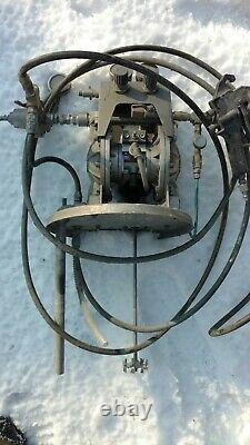 Pulvérisateur De Peinture Accuspray 5 Gallon Complet Avec Pistolet De Pulvérisation De La Série Hvlp 12